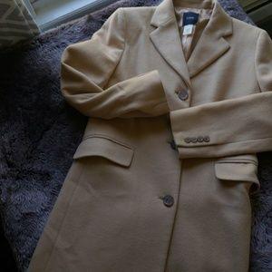 Below the knee wool/cashmere coat